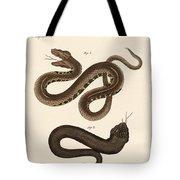 Strange Snakes Tote Bag