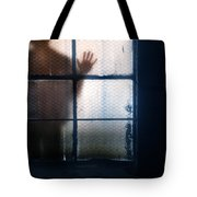 Stranger At The Window Tote Bag