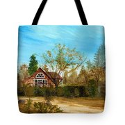 Strawberry Lodge Tote Bag by Dale Jackson