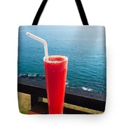 Strawberry Smoothie Soda Tote Bag