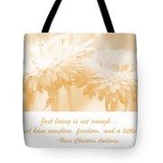 Strawflowers Tote Bag