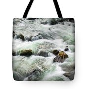 Stream Great Smoky Mountains  Tote Bag