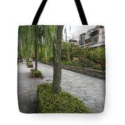 Street In Kyoto Japan Tote Bag