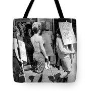 Strippers On Strike Tote Bag