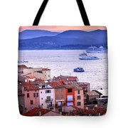 St.tropez At Sunset Tote Bag