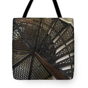 Sturgeon Point Lighthouse Spiral Staircase Tote Bag