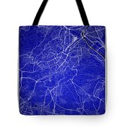 Stuttgart Street Map - Stuttgart Germany Road Map Art On Colored Tote Bag