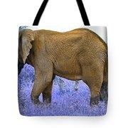 Styled Environment-the Modern Elephant Bull Tote Bag