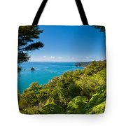 Subtropical Forest Of Abel Tasman Np In New Zealand Tote Bag