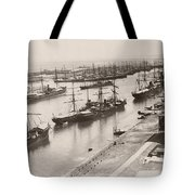 Suez Canal Port Said Tote Bag