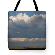 Summer Clouds Tote Bag