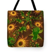 Summer's Last Sunflowers Tote Bag