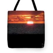 Sun Over Sea  Tote Bag
