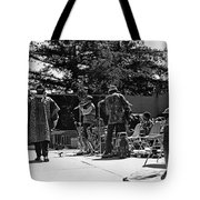 Sun Ra Arkestra Uc Davis Quad 2 Tote Bag by Lee  Santa