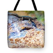 Sunbathing Tote Bag