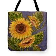 Sunflower Burst 1 Tote Bag
