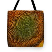 Sunflower Closeup Tote Bag