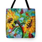 Sunflower Joy Tote Bag