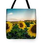 Sister Sunflowers Tote Bag