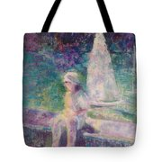 Sunlight In Central Park Tote Bag