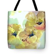 Sunlit Poppies I Tote Bag