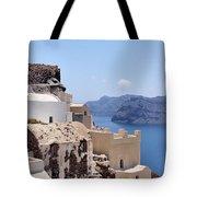 Sunny Santorini Tote Bag