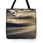 Sunrise At Oceano Sand Dunes Tote Bag