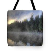 Sunrise At Trillium Lake Tote Bag
