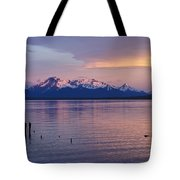 Sunrise Over Ultima Esperanza Tote Bag