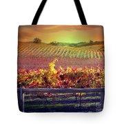 Sunrise Vineyard Tote Bag