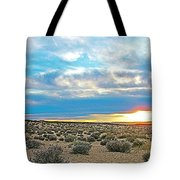 Sunset At Alstrom Point In Glen Canyon National Recreation Area-utah Tote Bag