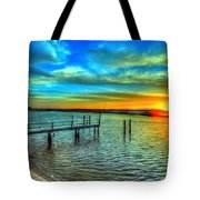 Sunset At The Cape Tote Bag
