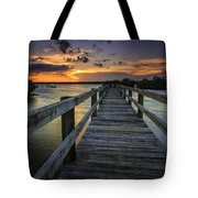 Sunset At Wildcat Cove Tote Bag