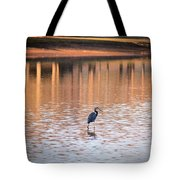 Sunset On The Lake Tote Bag