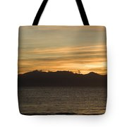 Sunset Over Arran Tote Bag