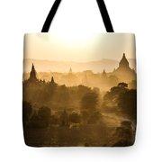 Sunset Over Bagan - Myanmar Tote Bag