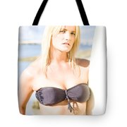 Surfing Leisure And Recreation Tote Bag