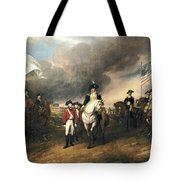Surrender Of Lord Cornwallis Tote Bag by John Trumbull