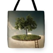 Suspended Land Tote Bag