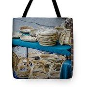 Charleston Sc Sweet Grass Basket Stand Tote Bag