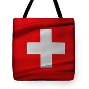 Swiss Flag Tote Bag
