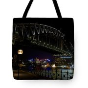 Sydney Harbor Bridge At Night Tote Bag