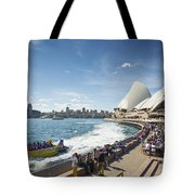 Sydney Harbour In Australia By Day Tote Bag