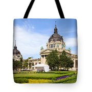 Szechenyi Baths In Budapest Tote Bag
