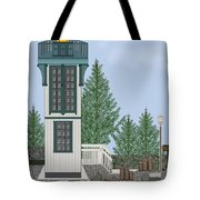 Table Bluff Lighthouse California Tote Bag