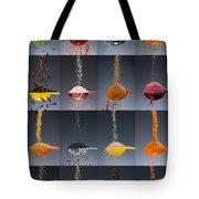 1 Tablespoon Flavor Collage Tote Bag by Steve Gadomski