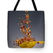 1 Tablespoon Red Pepper Flakes Tote Bag