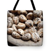 Tagua Nuts In A Wood Dish Tote Bag