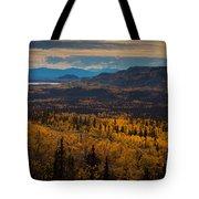 Taiga In Fall Tote Bag