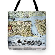 Taking Of St. Augustine Tote Bag